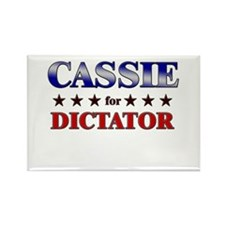 CASSIE for dictator Rectangle Magnet