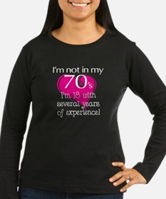 Not In My 70's T-Shirt
