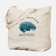 Cute Gray matter Tote Bag
