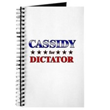 CASSIDY for dictator Journal