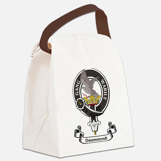 Badge - Drummond Canvas Lunch Bag