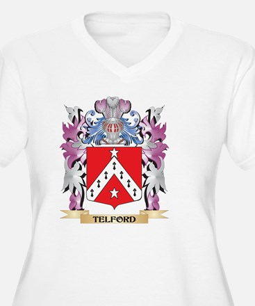 Telford Coat of Arms - Family Cr Plus Size T-Shirt