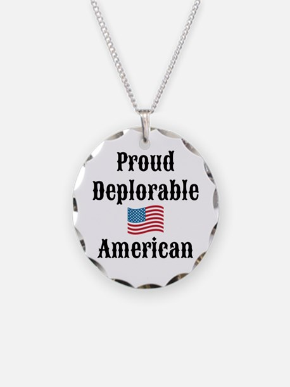 Deplorable American Necklace