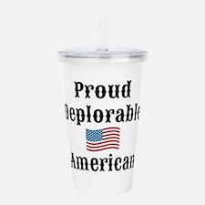 Deplorable American Acrylic Double-wall Tumbler