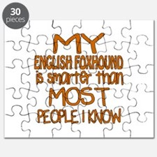 My English Foxhound is smarter Puzzle