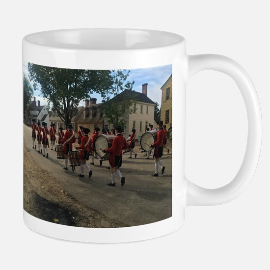 Colonial Williamsburg Fife and Drum Mugs