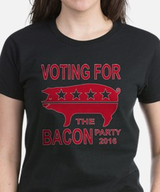 Voting For The Bacon Party Tee