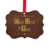 Once upon time Picture Frame Ornaments