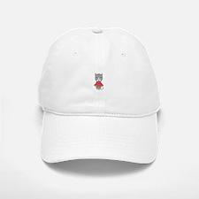 Cat with Melon Baseball Baseball Cap