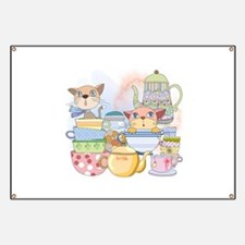 Kittens Tea Time Banner