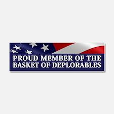 The Basket Of Deplorables Car Magnet 10 x 3
