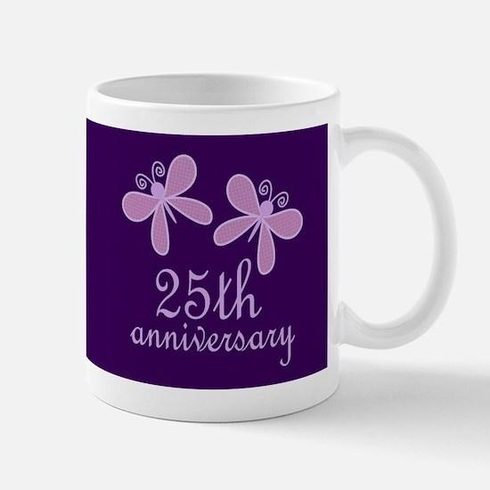 25th Anniversary Keepsake Mugs