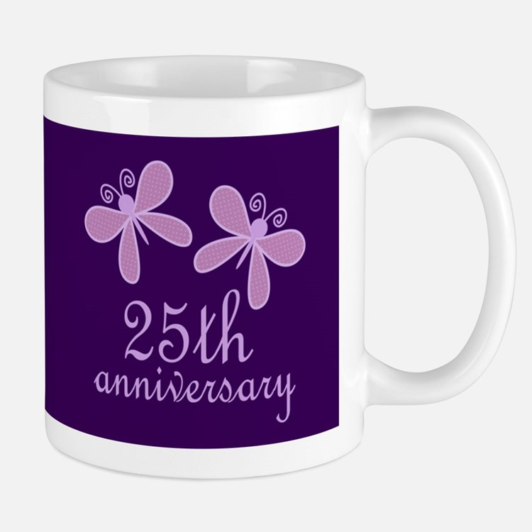 25th Anniversary Keepsake Mugs