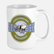 Navy SeaBee Mugs
