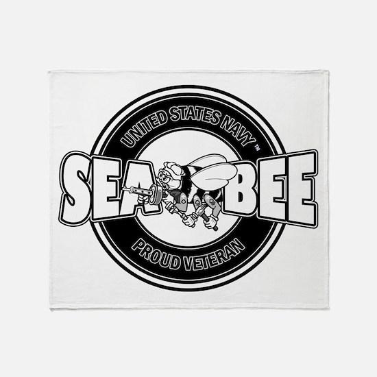 Navy SeaBee Throw Blanket