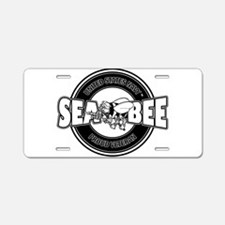 Navy SeaBee Aluminum License Plate