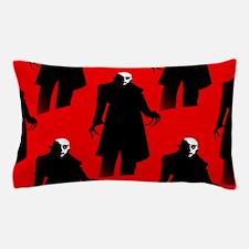 red nosferatu Pillow Case