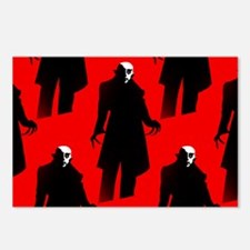 red nosferatu Postcards (Package of 8)