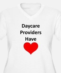 Daycare providers have heart T-Shirt