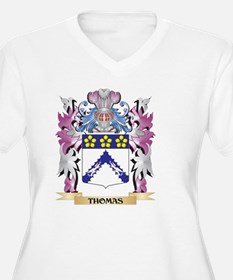 Thomas Coat of Arms - Family Cre Plus Size T-Shirt