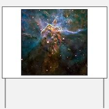 Carina Nebula by Hubble/STScI Yard Sign