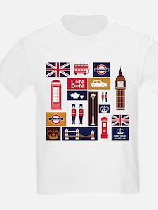 United Kingdom Icons T-Shirt