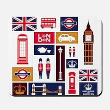 United Kingdom Icons Mousepad