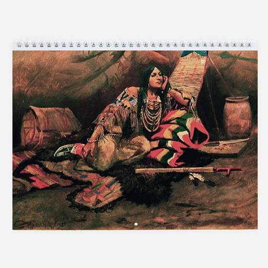 Native American Wall Calendar