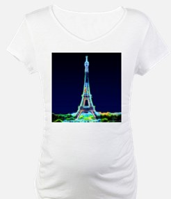 Glowing Eiffel Tower, Paris, Fra Shirt