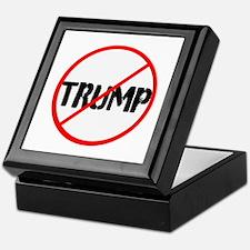 Anti Trump, no Trump Keepsake Box
