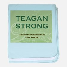Teagan Strong baby blanket