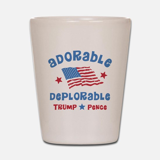 Adorable Deplorable Shot Glass