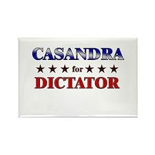 CASANDRA for dictator Rectangle Magnet