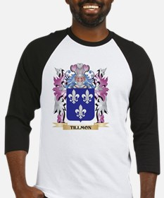 Tillmon Coat of Arms - Family Cres Baseball Jersey