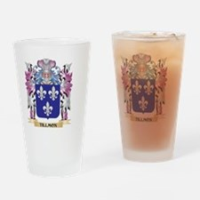 Tillmon Coat of Arms - Family Crest Drinking Glass