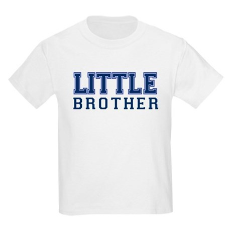 little brother varsity Kids Light T-Shirt