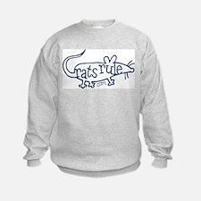 Unique Ratties rule Sweatshirt