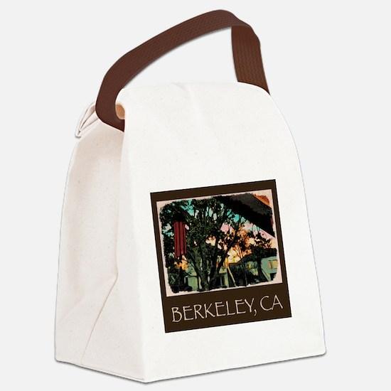 Unique Berkeley california Canvas Lunch Bag