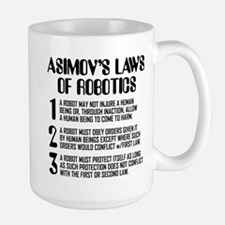 ASIMOV'S LAWS Mugs