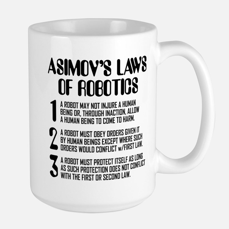 ASIMOV'S LAWS Mugs