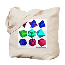 Compound Solids Tote Bag