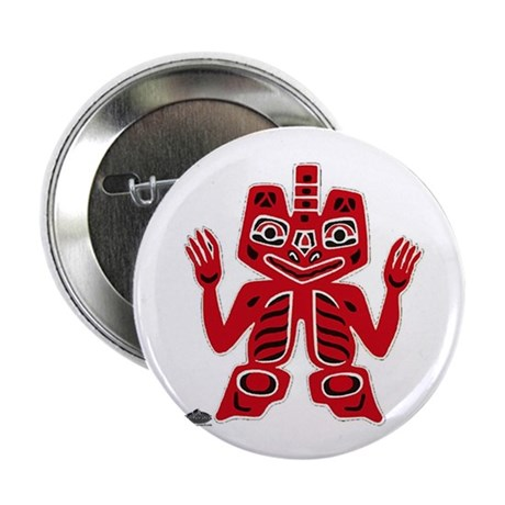 """Native American totem 2.25"""" Button (10 pack)"""