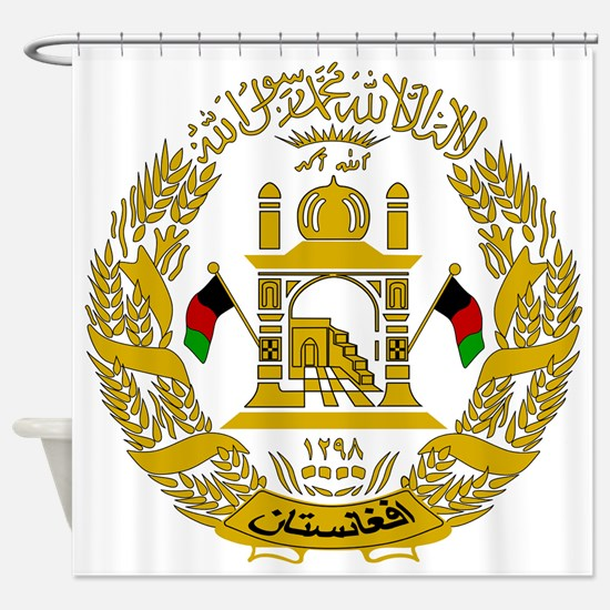 Unique Afghanistan Shower Curtain