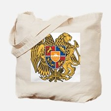 Cute Armenia coat arms Tote Bag