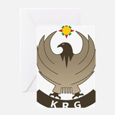 Unique Kurdistan Greeting Card