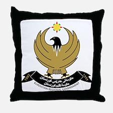 Cute Kurdistan Throw Pillow