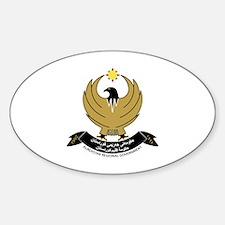 Cute Kurdistan Sticker (Oval)