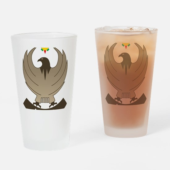 Cool Kurdistan Drinking Glass
