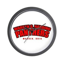 Harding Panthers Wall Clock