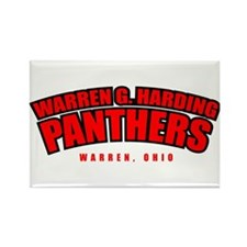 Harding Panthers Rectangle Magnet